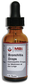 MBi Bronchitis Homeopathic Drops